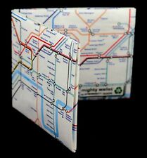 The Original Tyvek Mighty Wallet - London Underground Tube Map Design Gift