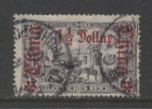 1905 German offices in CHINA  1½ Dollar  with op used TSCHINKIANG  $ 75.00