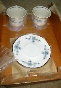 Winterling Bavaria Renaissance 2 Demitasse Cup Saucer Original Box Reorder Form