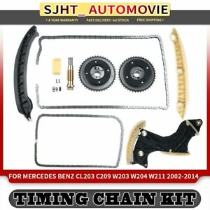 Timing Chain Kit for Mercedes Benz W203 W204 W211 R171 A209 C180 C250 CGI SLK200