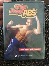 Hip Hop ABS: Hips, Buns and Thighs by Beachbody DVD with Shaun T, NEW
