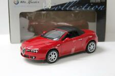 1:18 Welly Alfa Romeo Spider closed Top red