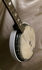 Vintage 1970 Fender F-1085 5 string USA made bakelite Resonator Banjo RARE!