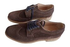 House Of Hounds Men's Lester Suede Brogue - Brown - 8 BRAND NEW £59.99