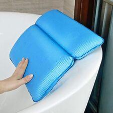 Almohada De Baño-Premium Impermeables baño Almohada Cojín con ventosas Antideslizante