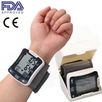 Automatic High Wrist Blood Pressure Monitor BP Cuff Machine Device with Talking