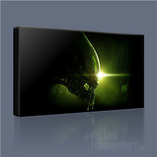 ALIEN ISOLATION AWESOME HIGH-IMPACT AVP ICONIC CANVAS PRINT PICTURE Art Williams