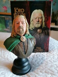 Sideshow Weta Lord of the Rings King Theoden Polystone Bust No 1249/2000 MIB