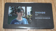 SHINEE SMTOWN MUSEUM OFFICIAL GOODS KEY BOOKMARK SEALED