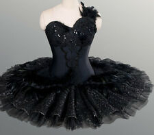 Professional Black Swan Lake Ballet Tutu Feathered Costume Custom MTO $799 YAGP