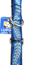 "Lupine 3/4"" Combo Dog Collar Adjustable 19-27""  ""WILLOW"""