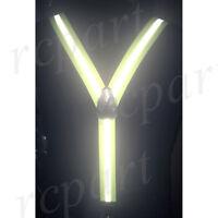 New Y back Men's reflective Orange glow in the dark Suspender Braces elastic