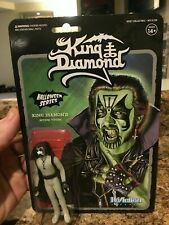 "KING DIAMOND - Super7 | ReAction 3.75"" GLOW IN THE DARK Series Action Figure"
