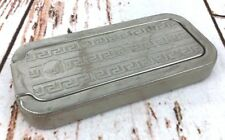 Vtg Rolls Razor England Sharpener Strop Kit Chrome Case 1927
