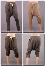 Damen-Haremshosen Damenhosen mit mittlerer Bundhöhe aus Polyester