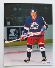 Teemu Selanne Signed Winnipeg Jets Authentic 8x10 Photo (PSA/DNA) #C06132