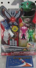 Power Rangers Super Megaforce Key Pack - Pink & Green  - Legendary Ranger