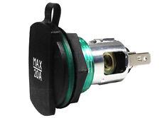 Cigarette Lighter Car Socket Power Supply with Cover 12v 24v 20A Van Vehicle