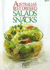 AUSTRALIA'S BEST-DRESSED SALADS & SNACKS - Kraft Family Circle Cookbook