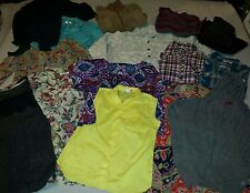 Lot of 15 Womens Coldwater Creek, OP, Cato Blouses Sweaters Jackets Size XL