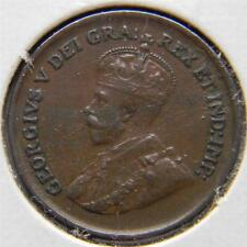 CANADA, George V: 1929 bronze Cent; XF+