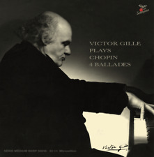 Victor Gille plays Chopin 4 Ballades [JAPAN CD w/mini LP sleeve] Sakuraphon