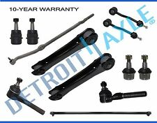 New 12pc Complete Front Suspension Kit for Jeep Wrangler TJ - 4WD 4x4 ONLY