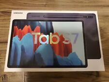 Sealed Samsung - Galaxy Tab S7 - 11- 128GB - With S Pen - Wi-Fi - Mystic Black