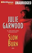 SLOW BURN unabridged audio book on CD by JULIE GARWOOD - Brand New - 8 CDs 9 hrs