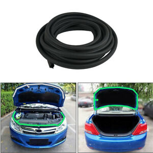 Car Truck Door Window 8M Seal Strip Black Rubber for Jaguar XJ E-Type XF S-Type