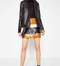 Zara Sequin Skirt Size Small BNWT RRP £50🎄