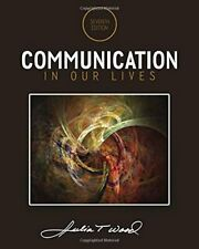 Communication in Our Lives by Wood  New 9781285075976 Fast Free Shipping,.
