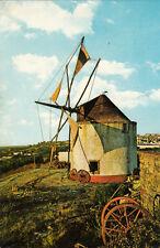 Carte postale ancienne PORTUGAL PALMELA moinho moulin timbrée 1980