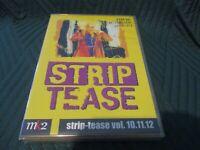 "RARE! COFFRET 3 DVD NEUF ""STRIP TEASE, VOLUMES 10, 11 & 12"" documentaires"