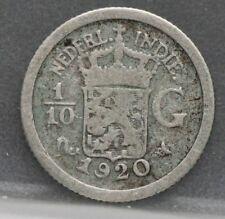Nederlands Indie East Indies - 1/10 gulden 1920 10 cent 1920