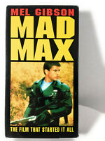 Mad Max with Mel Gibson VHS Cult Classic Dystopia 1979