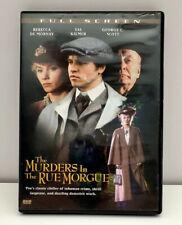 Murders in the Rue Morgue Dvd 2006 Full Screen Rebecca De Mornay Val Kilmer