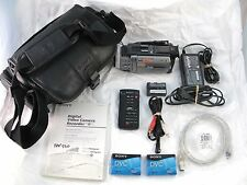 Sony Handycam DCR-TRV950 Mini DV Night Shot Plus 12x Camcorder + 30 Day Warranty