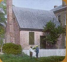 Old Debtors' Prison, Williamsburg, Virginia, Glass Photo Magic Lantern Slide