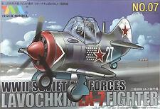 Tiger Models - Cutie Series - WWII Soviet AF Lavochkin LA-7 Fighter - TIG-TM107