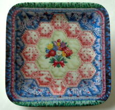 1997 Vintage Forever My Daughter Collector Quilt Plate Mary Ann Lasher 1st Issue