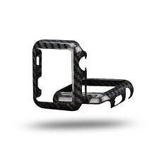 Real Glossy Carbon Fiber case for Series 1 or Series 2: 42mm Apple Watch