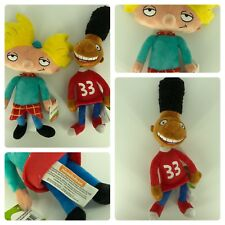 Hey Arnold! Plush Beanie Figure Arnold And Gerald New Nickelodeon 90s SOLD OUT