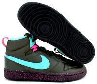 "Nike Air Court Borough Mid 2 Boot GS ""Miami Vice"" Size 6.5Y Women 8 BQ5440-300"