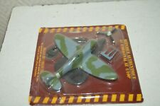 AVION METAL SPITFIRE MK VB + DECALCOMANIE PLANE MAQUETTE 1/100 NEUF ATLAS