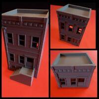 Modern Warfare Urban Apartment Warhammer Wargame Style Building 28mm
