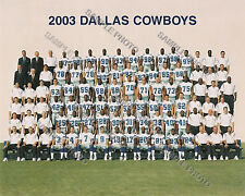 2003 DALLAS COWBOYS FOOTBALL TEAM 8X10 PHOTO PICTURE