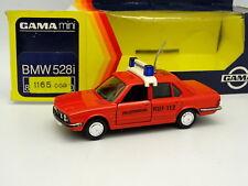 Gama 1/43 - BMW 528 I Feuerwehr