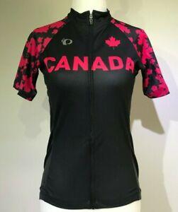 New PEARL IZUMI Women Elite Pursuit Short Sleeve Cycling Jersey CANADA Custom