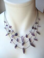 Natürliche Echtschmuck-Halsketten & -Anhänger mit Amethyst-Bewusstseins